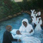 Art Painting Baptism Jamaica